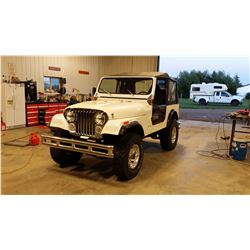 1983 JEEP CJ7 CUSTOM 383 CID 700 R4 TRANSMISSION