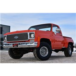 1976 CHEVROLET K10 CUSTOM SHOW TRUCK 600 MILES SINCE COMPLETION