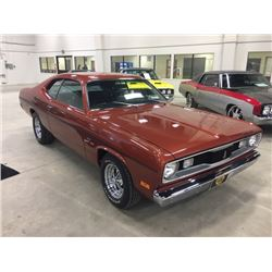 FRIDAY NIGHT! 1970 DODGE DUSTER 340 CID V8 4 SPEED