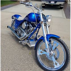 FRIDAY NIGHT 2014 BADLANDS CUSTOM CHOPPER MOTORCYCLE