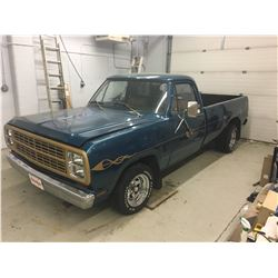 1980 DODGE D100 CUSTOM ONLY 9558 KM