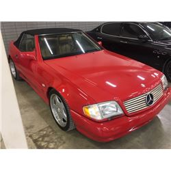 FRIDAY NIGHT 1990 MERCEDES BENZ 500 SL AMG CONVERTIBLE