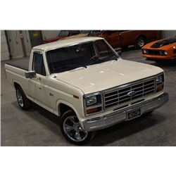 FRIDAY NIGHT 1983 FORD F100 CUSTOM PICKUP 7162 ORIGINAL MILES