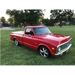 1971 CHEVROLET C10 SHORTBOX FLEETSIDE CUSTOM