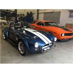 1965 SHELBY COBRA FACTORY FIVE ROADSTER SIGNED BY CARROLL SHELBY