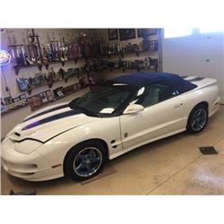 1999 PONTIAC TRANS AM RAM AIR SPECIAL EDITION CONVERTIBLE ONLY 62KM ACTUAL