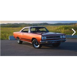 SATURDAY FEATURE 1968 PLYMOUTH GTX 440  REAL DEAL RS23 CODE