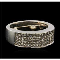 1.7 ctw. Diamond Ring-14KT White Gold