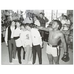 Muhammad Ali Punching The Beatles by Ali, Muhammad