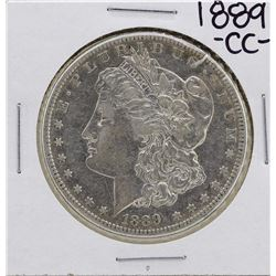 1889-CC $1 Morgan Silver Dollar Coin