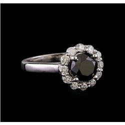 2.07 ctw Diamond Ring - 14KT White Gold