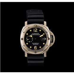 Luminor Panerai Submersible Firenze Titanium Watch