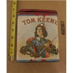 CIGAR TIN (TOM KEANE) *RARE*