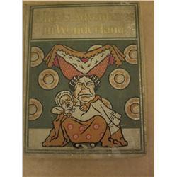 HARDCOVER BOOK (ALICE IN WONDERLAND) *COPYRIGHT 1897*