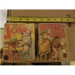 WESTERN BIG LITTLE BOOKS (QTY 2)
