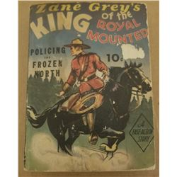 KING OF THE ROYAL MOUNTED BIG LITTLE BOOK (ZANE GREY)