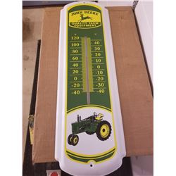 "THERMOMETER (JOHN DEERE) *LARGE 27"" WORKING*"