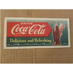 COCA-COLA INK BLOTTER *1953*