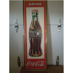 "COCA COLA BOTTLE POSTER *36"" REPRINT, 1977*"