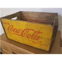 "COCA-COLA CRATE (9"" T ORIGINAL) *1940s*"