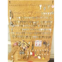 KEY COLLECTION ON BOARD