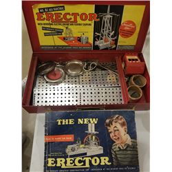 NO. 6½ ERECTOR SET (W/CATALOGUE)