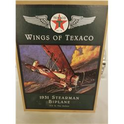 BIPLANE (TEXACO 1995) *3RD IN SERIES* (MINT IN BOX)