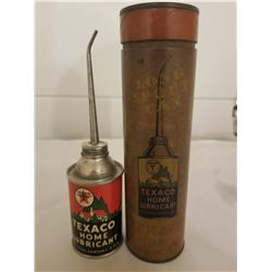 HOME LUBE OILER (TEXACO) *RARE FIND, IN ORIGINAL BOX*