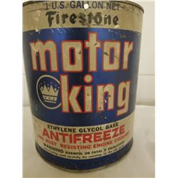 1 GAL. ANTIFREEZE TIN (FIRESTONE MOTOR KING)