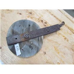 """WOODEN PULLEY (HOME MADE) *10""""*"""