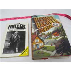 HARD COVER & SOFT COVER BOOK 'DEATH OF A SALESMAN' & 'THE REGULATORS' (RICHARD BACHMAN)