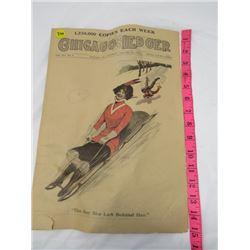 NEWSPAPER 'CHICAGO LEDGER' *JAN 17/1914*
