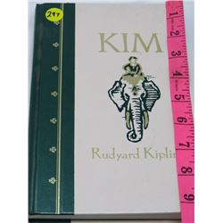 HARD COVER BOOK 'KIM' (RUDYARD KIPLING ILLUSTRATED)