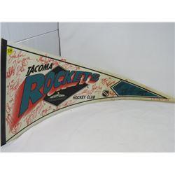 HOCKEY PENNANT (TACOMA ROCKETS) *1994-95*