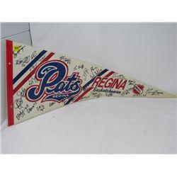 HOCKEY PENNANT (REGINA PATS) *1995-96*