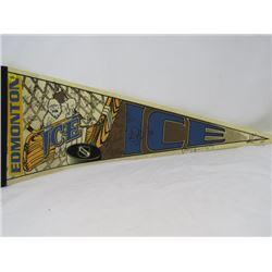 HOCKEY PENNANT (EDMONTON ICE) *1996-97*