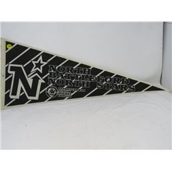 HOCKEY PENNANT (NORTH BATTLEFORD NORTH STARS)