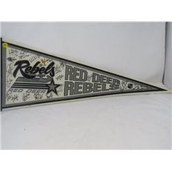 HOCKEY PENNANT (RED DEER REBELS)