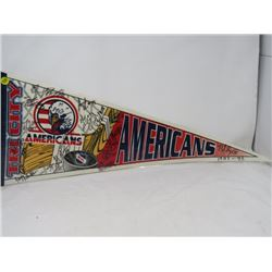 HOCKEY PENNANT (TRI CITY AMERICANS) *1995-96*