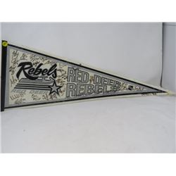 HOCKEY PENNANT (RED DEER REBELS) *1996-97*