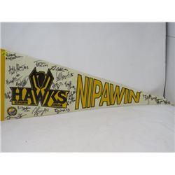 HOCKEY PENNANT (NIPAWIN HAWKS)