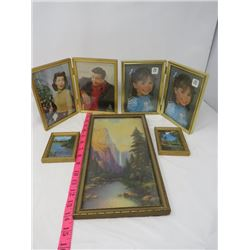 PICTURE FRAMES (JACKIE GLEASON & LORETTA YOUNG, ETC)