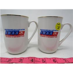 LOT OF 2 CUPS (SASKATOON WHOLESALE AUTO AUCTION *1 CHIP*