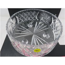CRYSTAL BOWL (SUNBURST) *FOOTED*