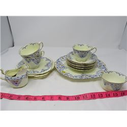 LOT OF CHINA INCOMPLETE SET (ROYAL CHELSEA)