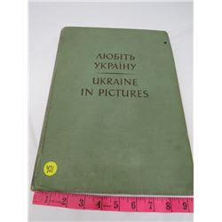 HARD COVER BOOK (UKRAINE IN PICTURES 1954)