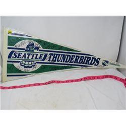 HOCKEY PENNANT (SEATTLE THUNDERBIRDS) *1993-1994*