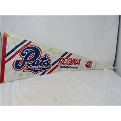 HOCKEY PENNANT (REGINA PATS) *1991-92*