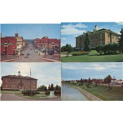 LOT OF 9 POSTCARDS (PRINCE ALBERT BUILDINGS AND LANDSCAPES)