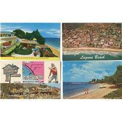 LOT OF 55 POSTCARDS (ASSORTED THEMES)